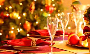 una bella tavola natalizia