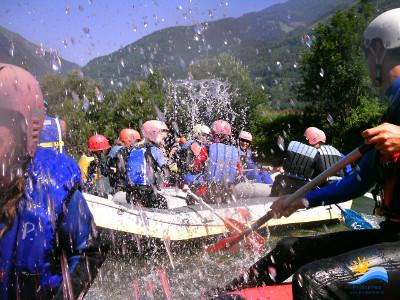 rafting sul fiume Möll