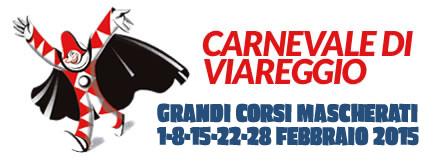 Logo Carnevale Viareggio 2015