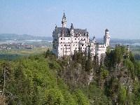 il castello di Neuschwanstein.
