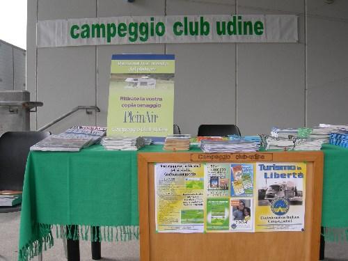 il banchetto del Club a Pollice Verde