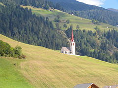 il paesaggio sulla S. Candido - Lienz
